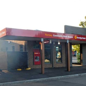Main Street, Romsey Victoria   –   Bendigo Bank